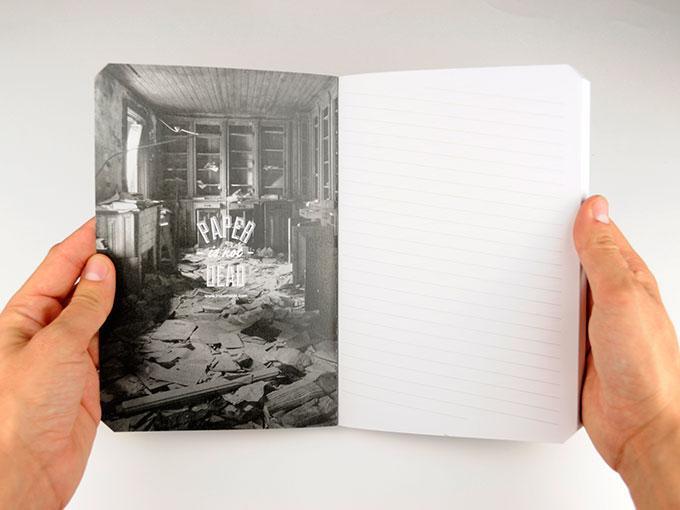 El primer cuaderno para zurdos