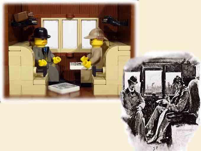 Icónico viaje en tren
