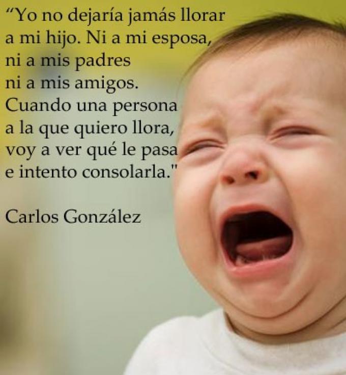 ¿Hay que dejar llorar a los niños?