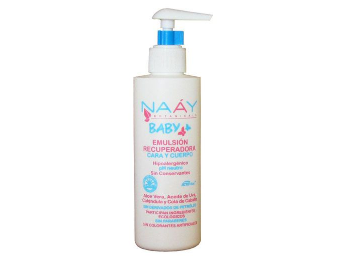 Leche corporal eco-baby de Naáy Baby