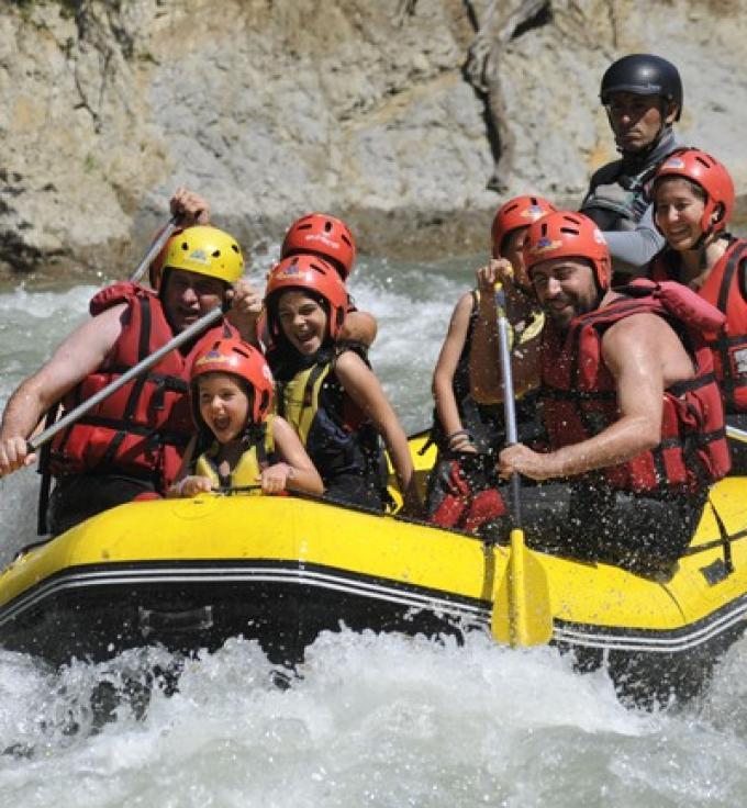 Descenso de ríos en piragua
