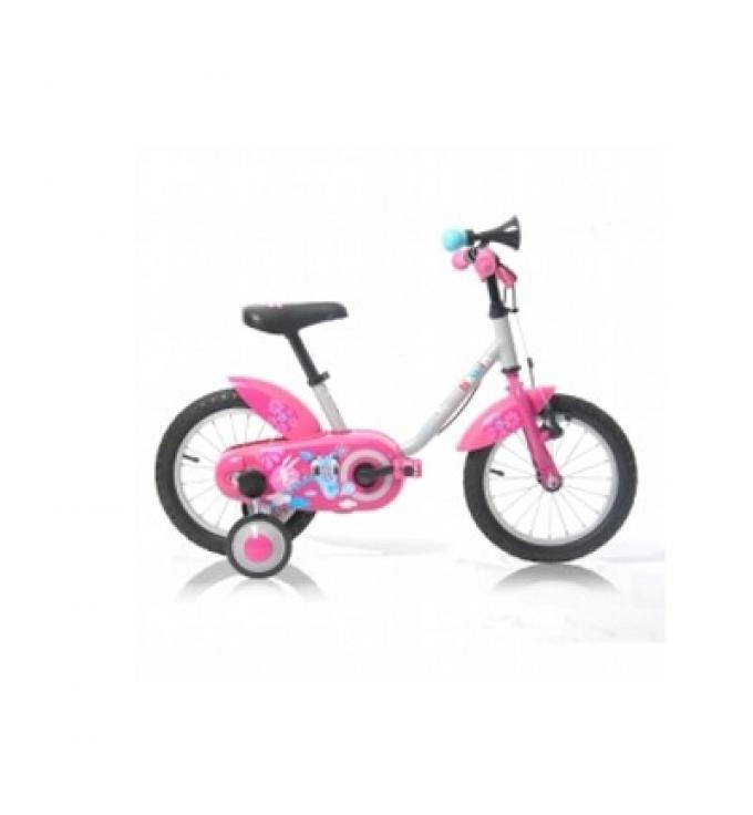 """Bicicleta niña 14"""" Gira. Decathlon"""