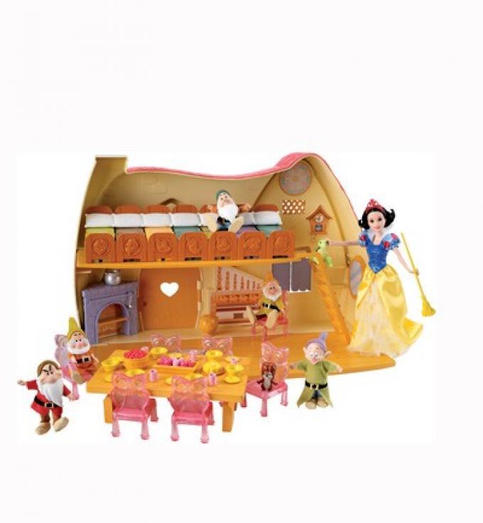 Casa de Blancanieves . Mattel