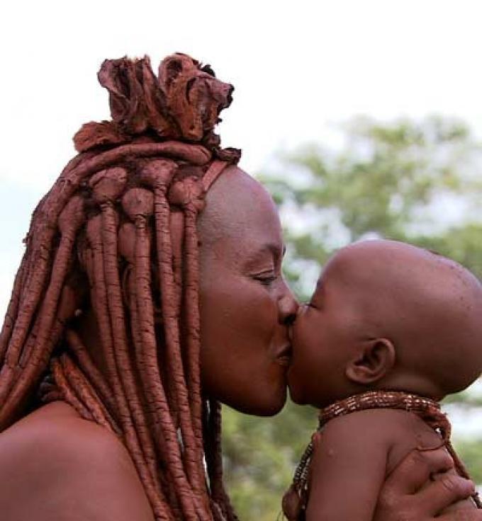 Ponijao, el bebé de Namibia