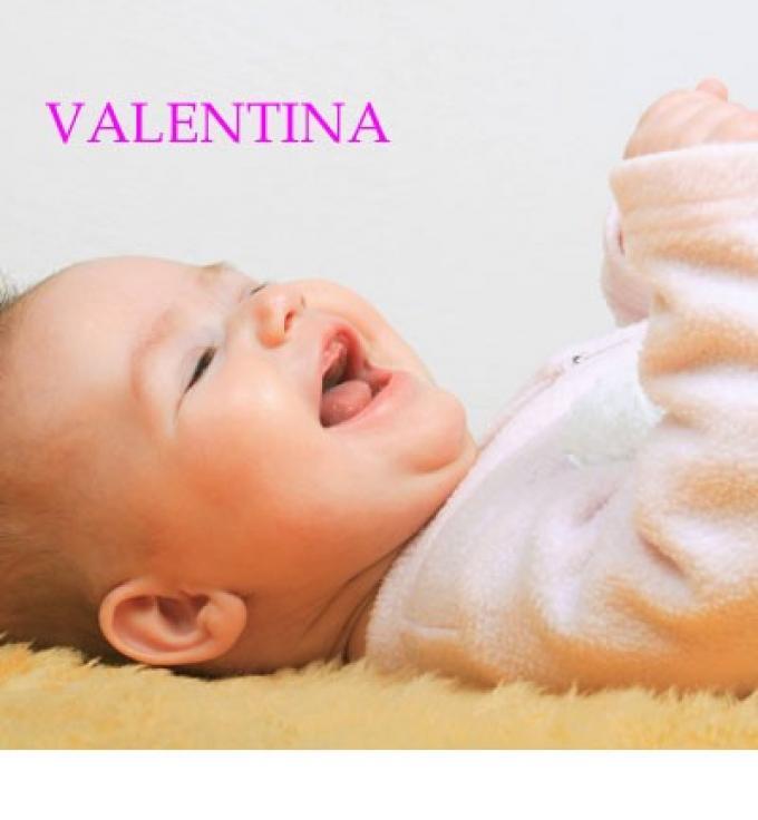 Nombre para niña: Valentina