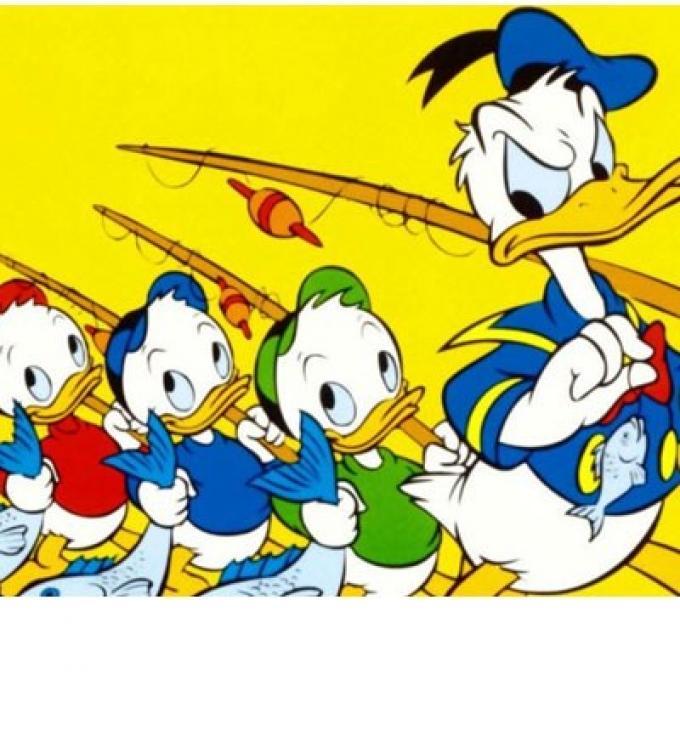 La familia del Pato Donald