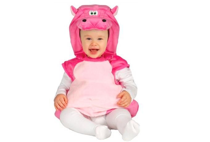 Disfraz de hipopótamo para el bebé