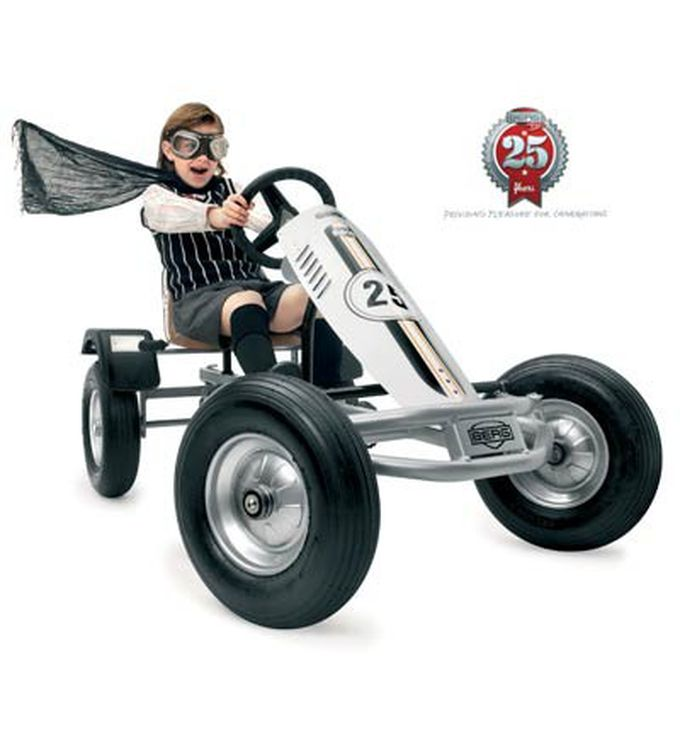 Kart retro a pedales