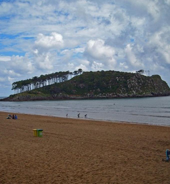 Playa de Isuntza, Vizcaya