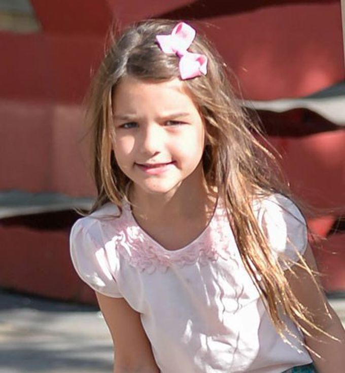 El look de Suri Cruise