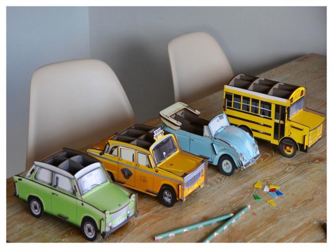 Portalápices para pequeños coleccionistas