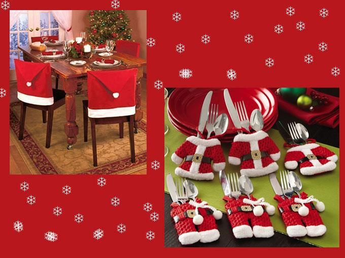 decoraci n para navidad low cost mesa y papa noel