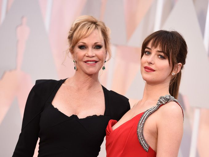 Melanie & Dakota Johnson