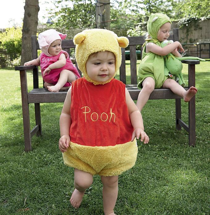 Disfrazarse de Winnie The Pooh