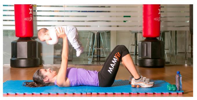Coge a tu bebé y a hacer ejercicio