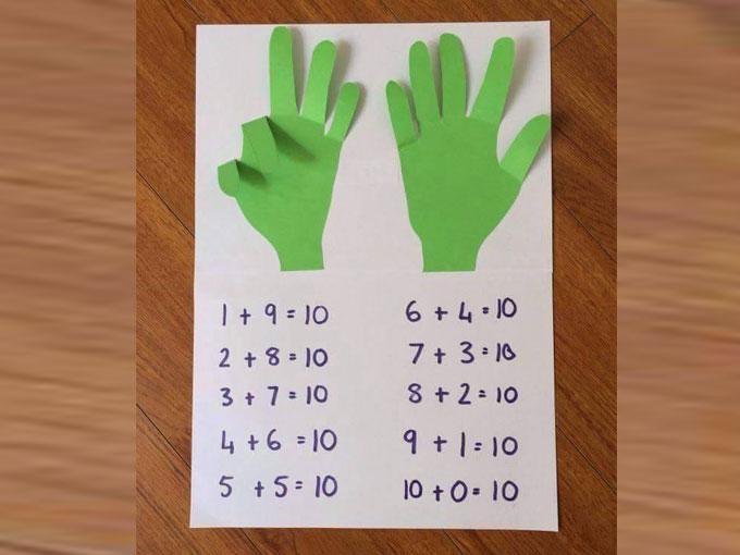 ¿Y si lo hacemos con los dedos?