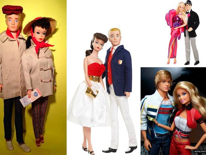 Barbie y Ken más de 50 años juntos
