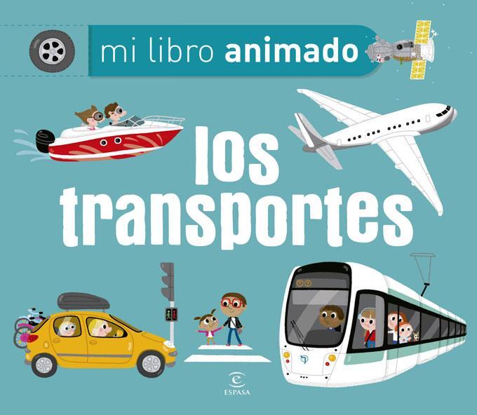 Mi libro animado Los transportes