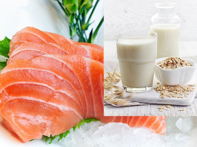Carne, pescado y lácteos