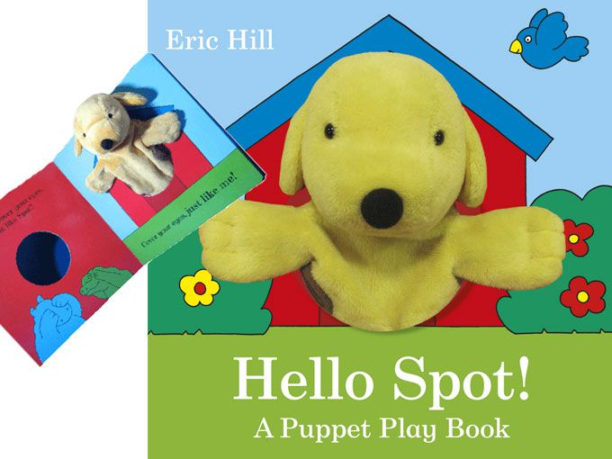 'Hello Spot! A puppet play book'