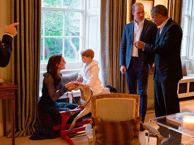 George y Obama