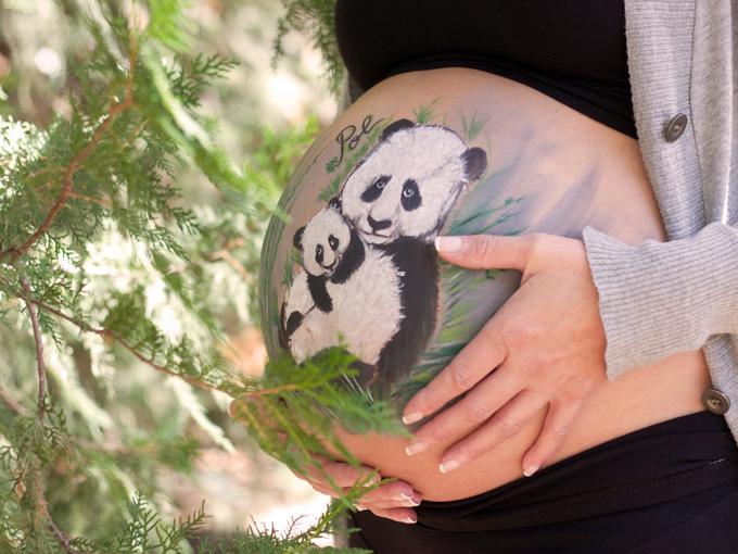 Bonitos osos panda