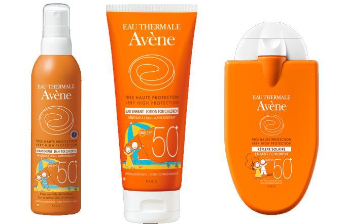 Solares para pieles sensibles de Avène