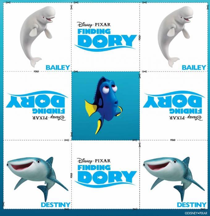Buscando a Dory: Memory Cards Bailey y Destiny