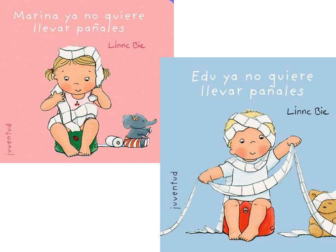 Marina/Edu ya no quiere llevar pañales