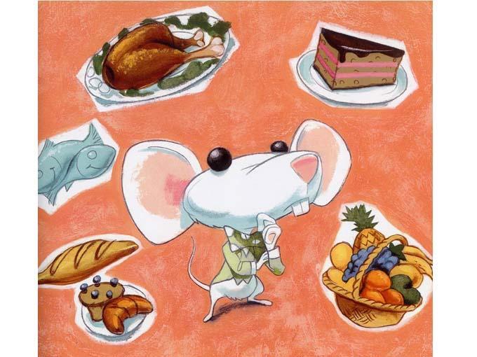 Lo que comen los ratones