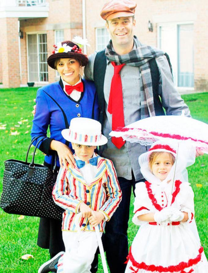 25 Disfraces De Carnaval Originales Para Toda La Familia Mary Poppins