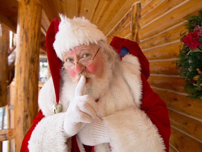 ¿Dónde vive exactamente Papa Noel?