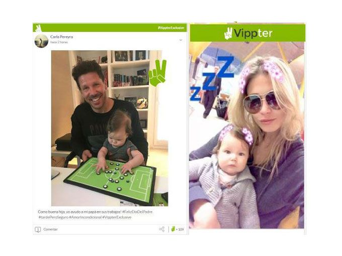Papás famosos: Carla Pereyra