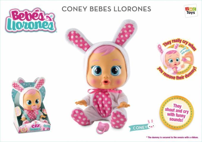 19. Cry Babies de IMC Toys