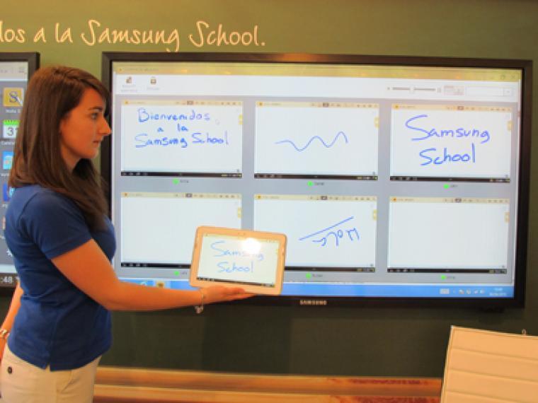 Samsung School: la escuela 4.0 que viene
