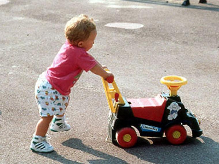 Juguetes para aprender a andar