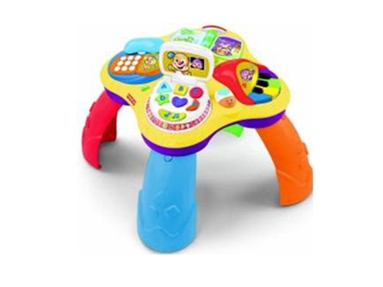 Bebés: aprendizaje electrónico con Fisher-Price