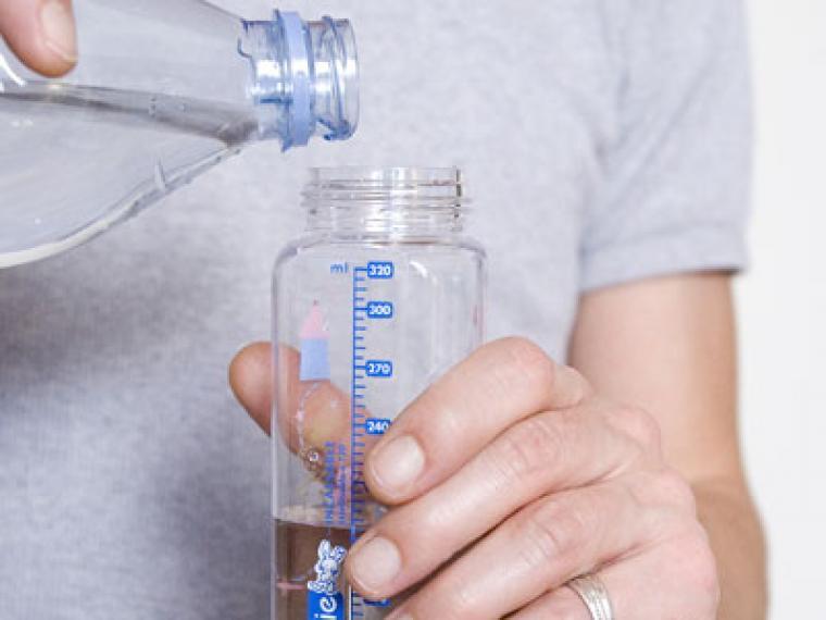 ¿Se puede usar agua del grifo?