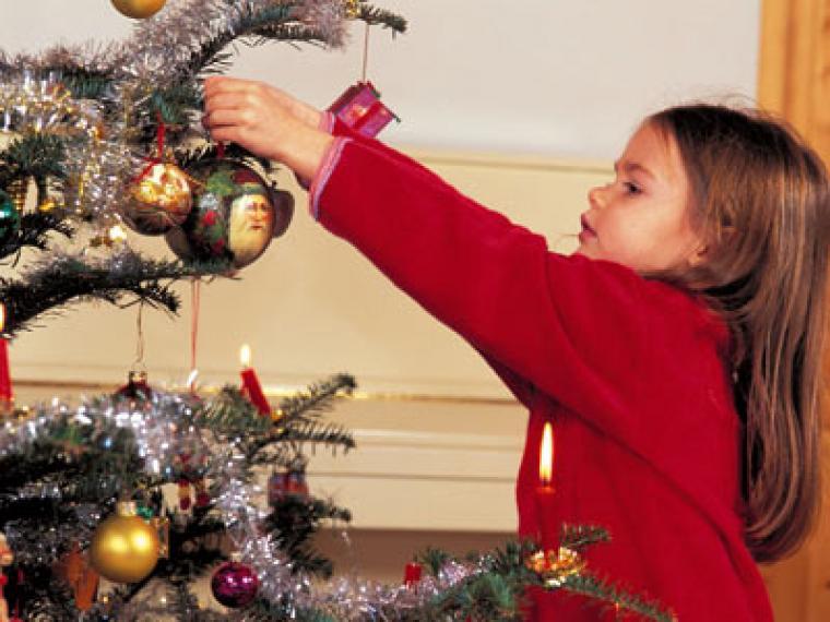 Tiene tres años... ¡Ya disfruta de la Navidad!