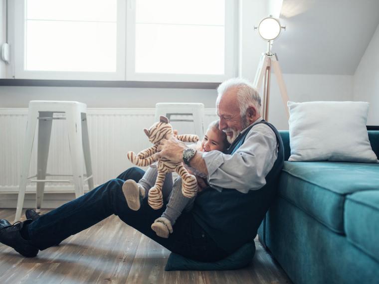 Unos días en casa de los abuelos