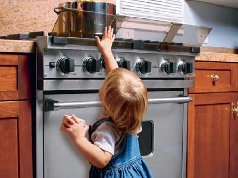Seguridad para niños en la cocina