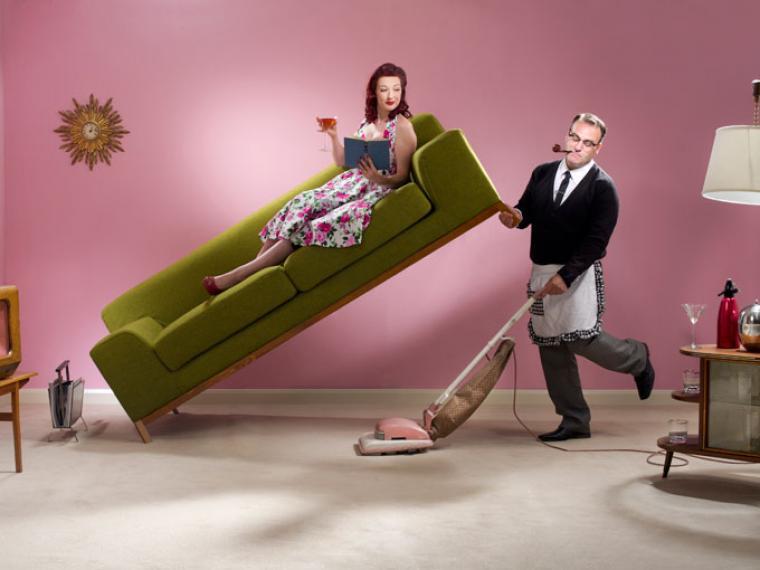 Las tareas domésticas siguen siendo cosa de mujeres