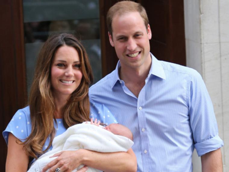 El nacimiento del príncipe de Cambridge, en fotos