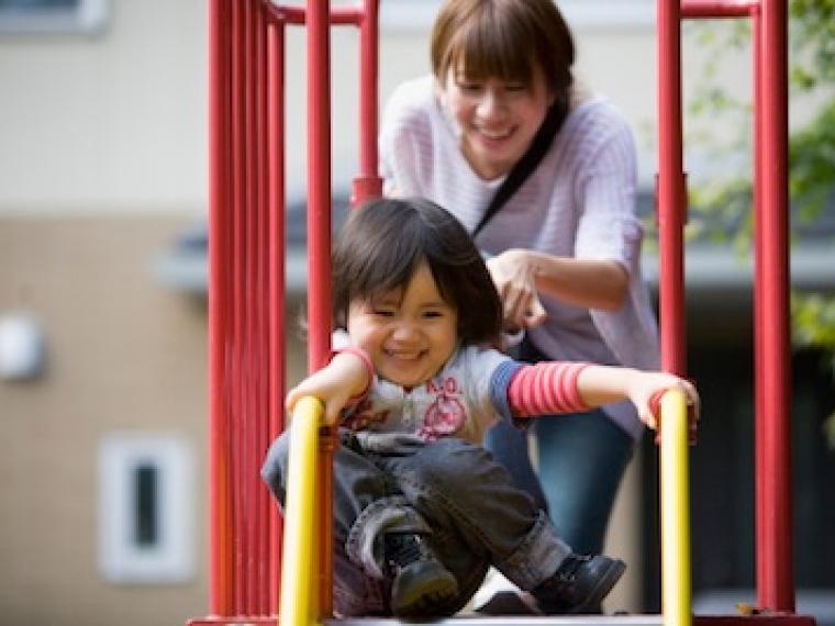 ¿Está nuestro hijo seguro en el parque?