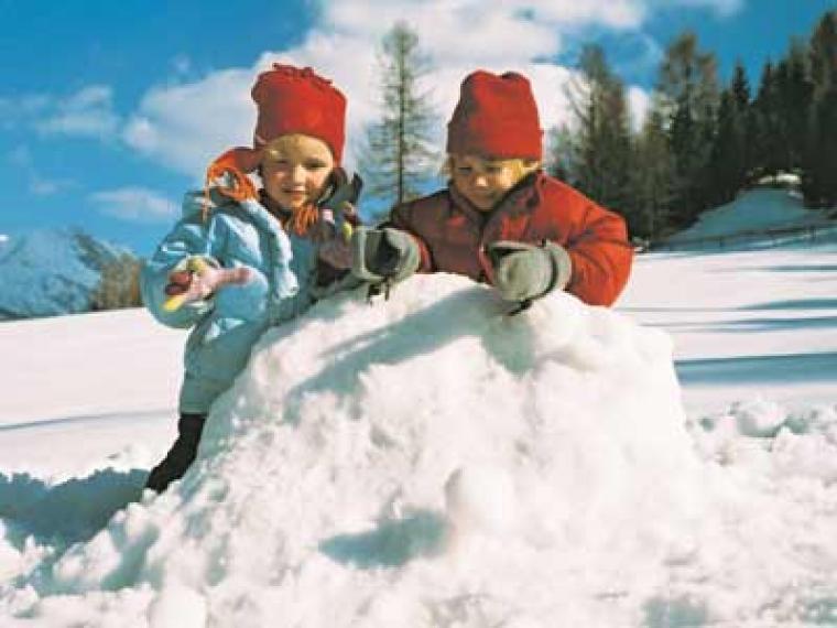 Abrigados para la nieve