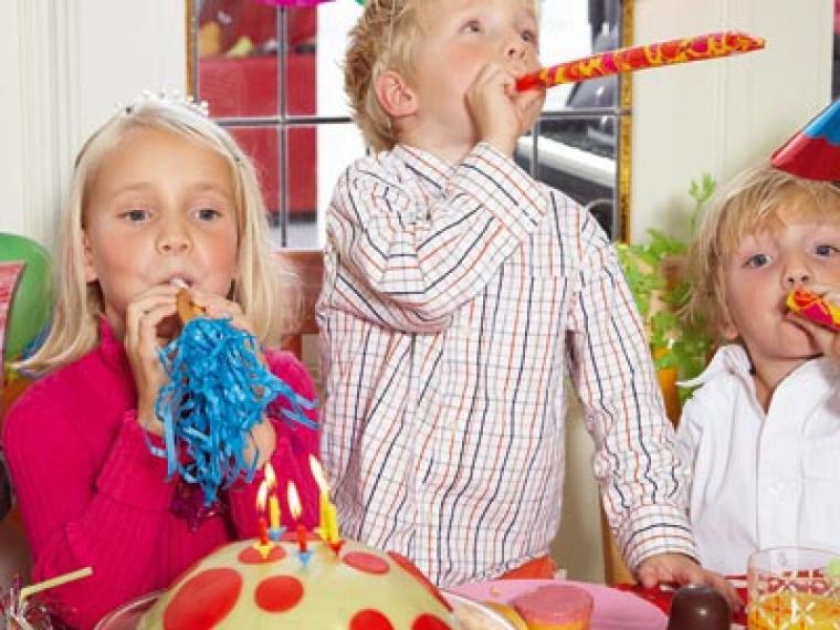 Una comida sencilla para la fiesta de cumpleaños
