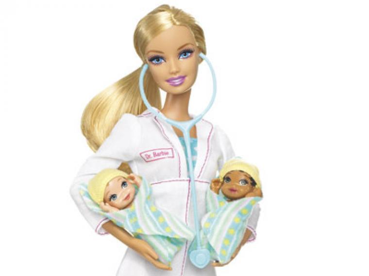 Las profesiones de la muñeca Barbie