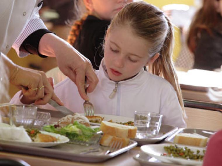 ¿Cómo se debe complementar el menú escolar?