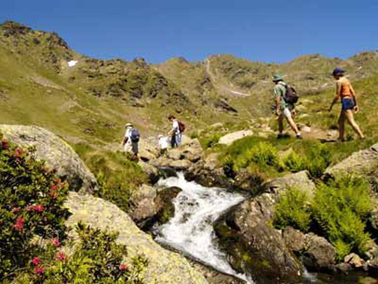 Fotos. Andorra con niños
