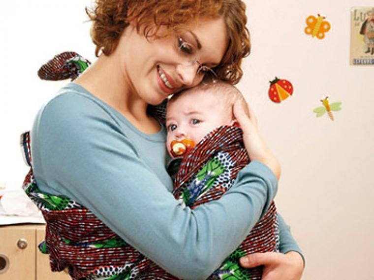 Trucos para calmar a un bebé sensible